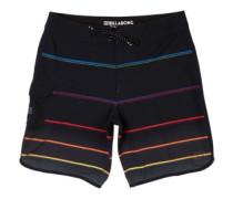 "73X Stripe 19"" Boardshorts black"