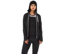 Merino Approach Tech Mid Hood Jacket black