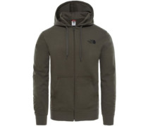 Open Gate Light Zip Hoodie new taupe green