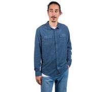 Freeman Cord Shirt china blue