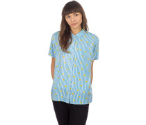 Hilo Shirt blue stripe lemon