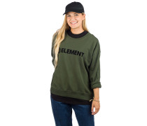 Logo Crew Sweater olive drab