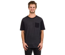 50-50 Solid Pocket T-Shirt blackout light heather