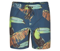 Paradise Volley 17'' Shorts blue force
