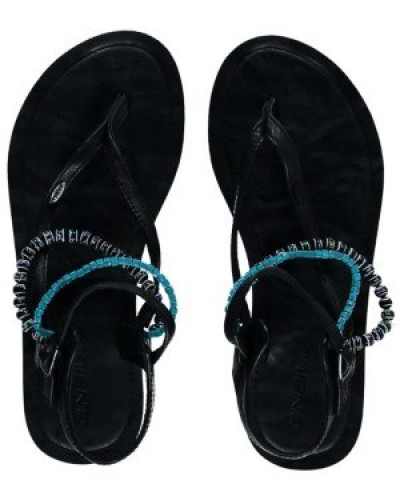 Batida Beads Sandals Women black out