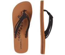 3 Strap Disty Sandals Women black out