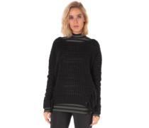 Get In Line Pullover black