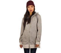 Minxy Fleece Zip Hoodie dove heather