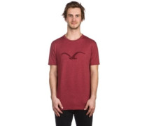 Mowe Tonal T-Shirt heather merlot red