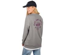 Attendance Crew Sweater grey heather