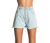 Hot Shot Denim Shorts light blue
