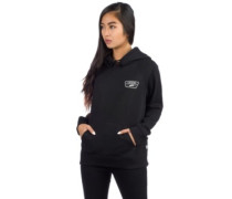 Full Patch Raglan Hoodie black