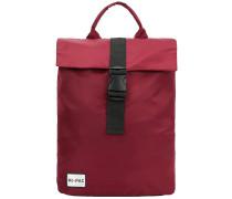 SP Nylon Pack Backpack burgundy