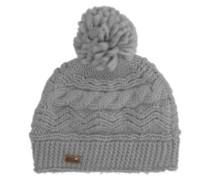 Winter Beanie warm heather grey