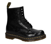 60 QQ Flowers 8 Eye Boots Women black