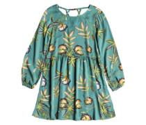 Highland Escape Dress trellis bird flower