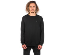 Single Stone Crew Sweater black