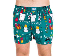 Merry Merry Boxershorts forrest green