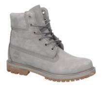 "6"" Premium Boot Shoes Women steeple grey waterbuck"