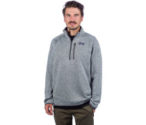 Better Sweater 1/4 Zip Fleece Pullover stonewash