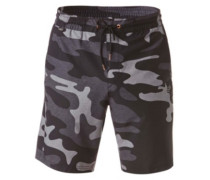 Camo Volley Boardshorts black