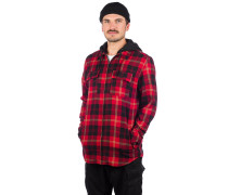 Chancer Flannel Shirt red