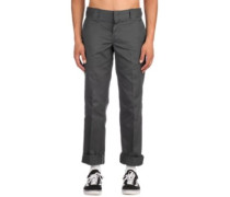 S/Straight Work Pants charcoal grey