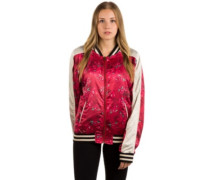 Two Way Street Jacket velvet red