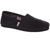 Alpargata Slip-Ons black on black