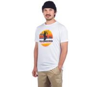 Pollerhocken T-Shirt white