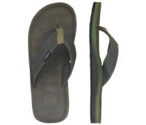 Chad Logo Sandals winter moss