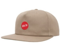 Strople Snapback Cap khaki