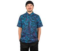 SB Woven Printed Skate Polo Shirt blk