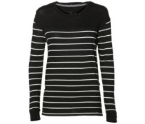 Ess Stripe Relaxed T-Shirt LS white