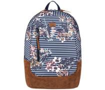 Free Your Wild Backpack medieval blue boardwalk