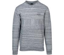 Captain Crew Sweater pewter grey mar