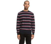 Sabotage Stripe Pullover black