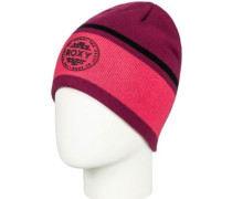Icy Dale Beanie beet red
