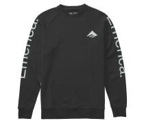 Tri Pure Crewneck Sweater black