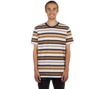 Multi Stripe 2 T-Shirt white
