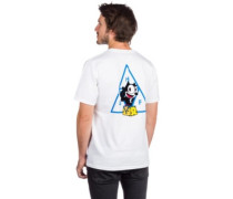 X Felix The Cat Triple Triangle T-Shirt white