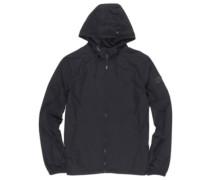 Alder Poplin Jacket flint black