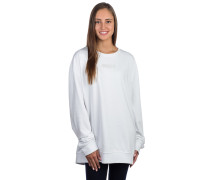 Overtime Crew Sweater white