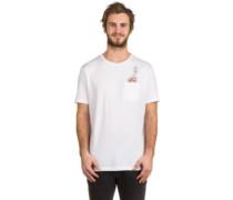 X Southpark Dead Kenny Pocket T-Shirt white