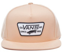 Full Patch Snapback Cap apricot ice