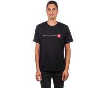 Never Stop Exploring T-Shirt tnf black