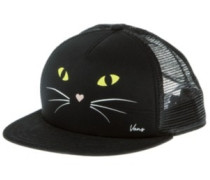 Lawn Party Trucker Cap black cat