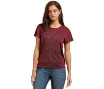 Easy Babe Rad 2 T-Shirt burgundy