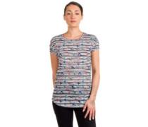 Sublimation Print T-Shirt purple