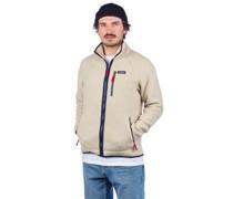 Retro Pile Fleece Jacket el cap khaki